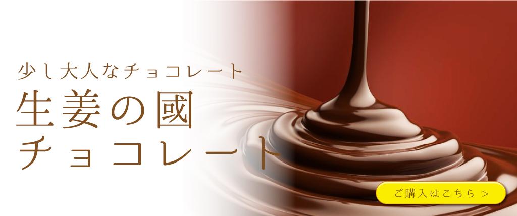 生姜の國チョコレート
